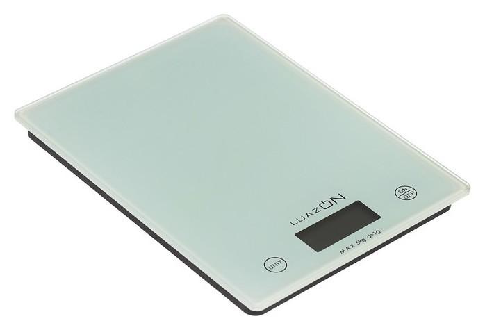 Весы кухонные Luazon Lvk-702, электронные, до 5 кг, белые  LuazON