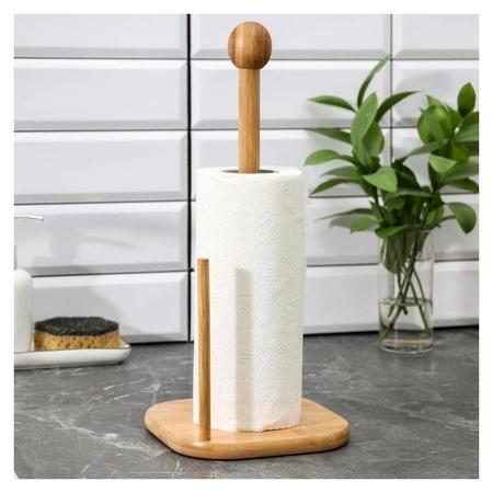 Держатель для полотенец «Бамбук», 16×16×36 см  NNB