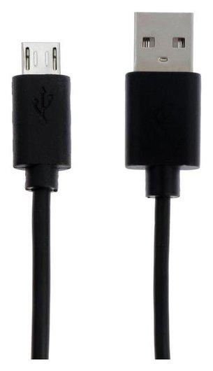 Кабель Sonnen Economy, Micro Usb-usb, 1 А, 1 м, черный  Sonnen