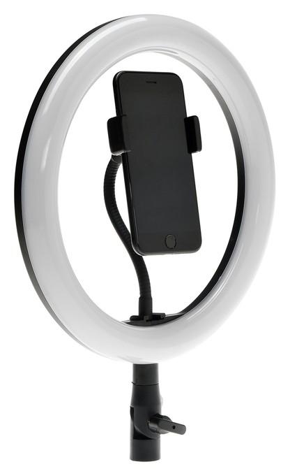 """Светодиодная лампа для селфи Luazon Ck-76, 10""""/26 см, 20 Вт, 3 режима, работает от USB  LuazON"""