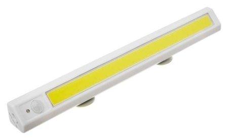 Светильник мебельный угловой, 8 Вт, COB Led, датчик движения, 6500k, 4xaa ( не в компл )  NNB
