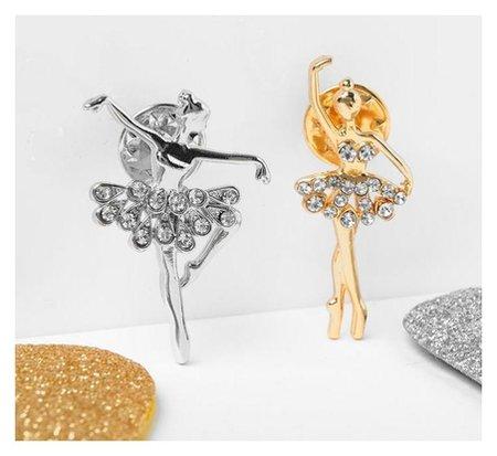"""Значок """"Балерины"""" дуо, форма  Queen Fair"""