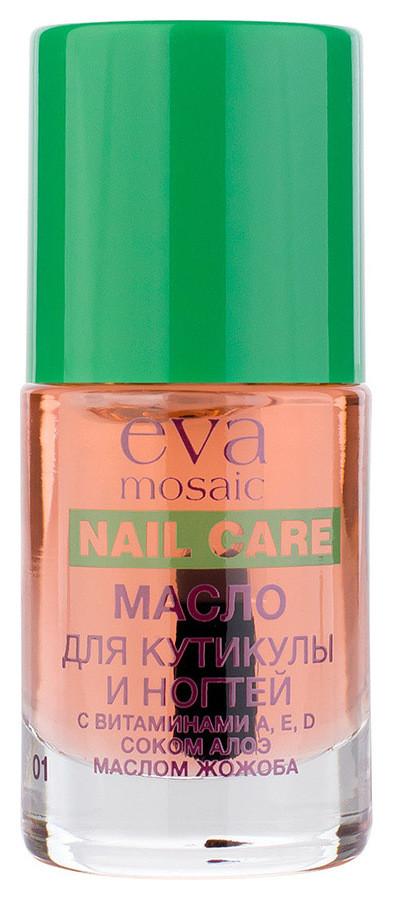 Масло для кутикулы и ногтей увлажняющее с витамином E Nail Care  Eva Mosaic