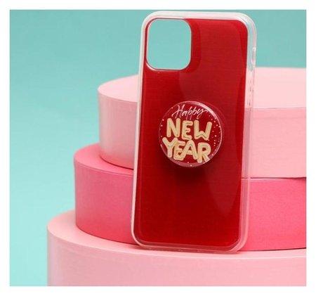 Чехол с попсокетом для Iphone 11 Pro «С новым годом», 7,14 × 14,4 см  NNB