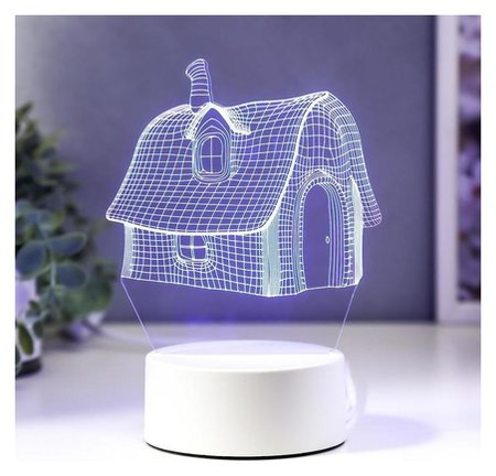 Светильник Уютный дом LED RGB от сети КНР