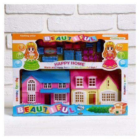 Дом для кукол «Создай уют» с аксессуарами  NNB