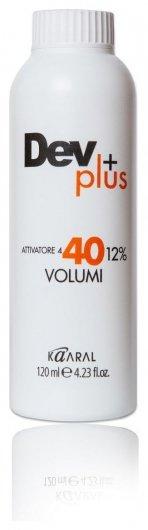 Эмульсия для волос Осветляющая 12% 40 volume  Kaaral