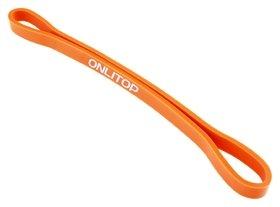 Фитнес-резинка, 30 х 1,3 х 0,5 см, нагрузка 35 кг, цвет оранжевый