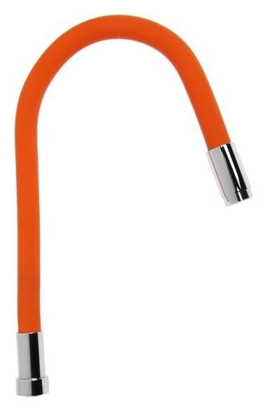 Излив силиконовый Accoona A470p-6, оранжевый  Accoona