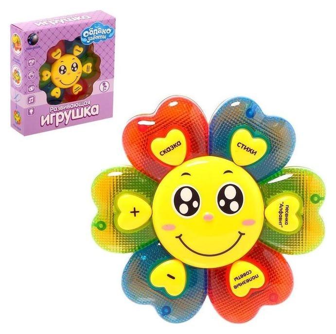 Развивающая игрушка «Облако заботы», стихи, песенки, световые и звуковые эффекты  Tongde