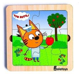 Пазл «Коржик», 6 деталей, основание: 18 × 18 × 1.5 см, по лицензии ТРИ кота