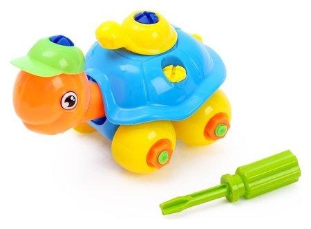 Конструктор для малышей «Черепашка», 25 деталей NNB