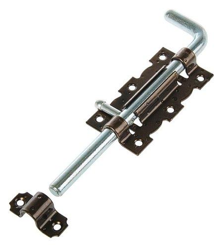 Задвижка дверная ЗД 110-гб-sl, цвет бронзовый металлик/цинк  Noez
