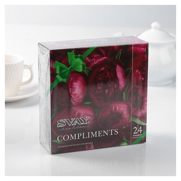 Чай 24 пирамидки Svay Compliments Peonies  Svay