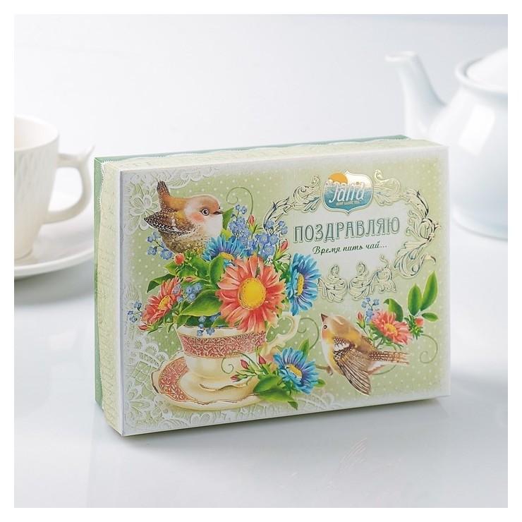 """Чай черный """"Шкатулка"""" цейлонский крупнолистовой  Svay"""