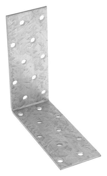 Уголок крепёжный Tundra, 100 х 100 х 40 х 2 мм, оцинкованный, в упаковке 1 шт.  Tundra