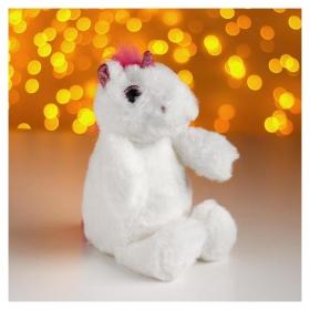 Мягкая игрушка «Единорог», цвет белый