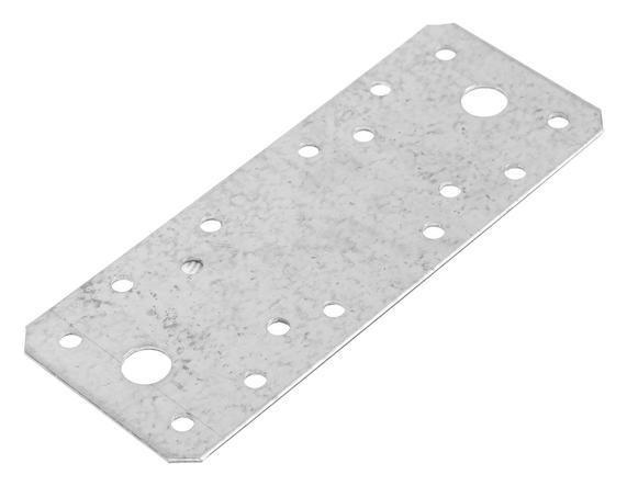 Пластина крепёжная Tundra, 140х55х2 мм, гоц, в упаковке 1 шт. Tundra