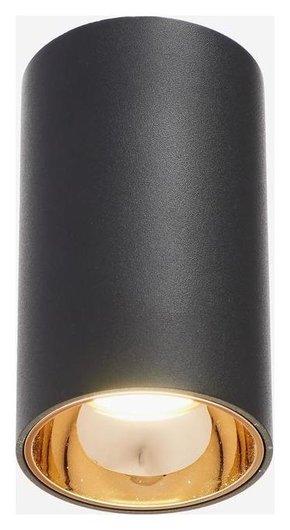 Светильник 671515/1 LED 12вт черный-золото 7,5х7,5х15 см  BayerLux