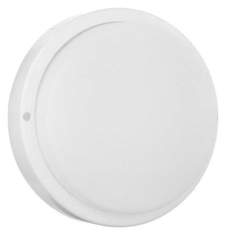 Светильник круг накладной светодиодный Ecola, 18 Вт, 4200 К, 220 В, Ip65, 175х45 мм, белый  Ecola