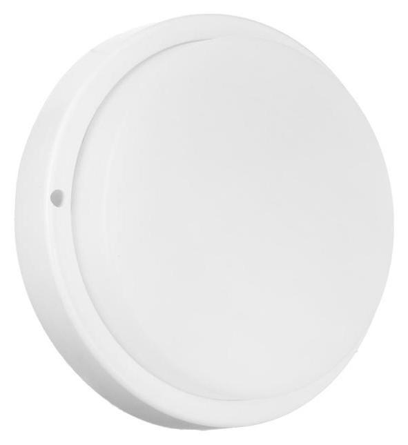 Светильник круг накладной светодиодный Ecola, 18 Вт, 6500 К, 220 В, Ip65, 175х45 мм, белый Ecola