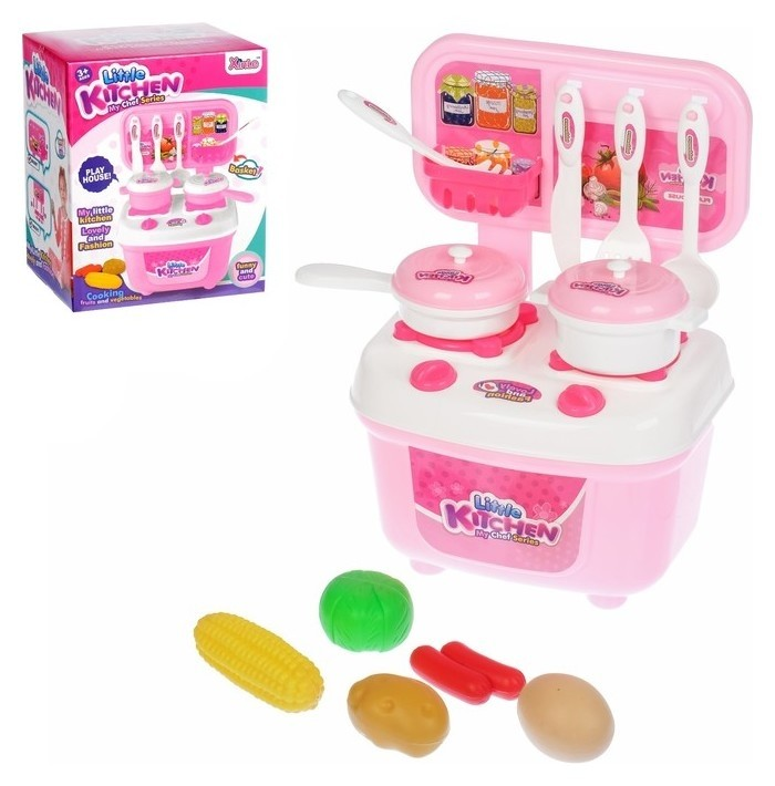 Игровой набор кухня «Маленький поваренок» с аксессуарами NNB