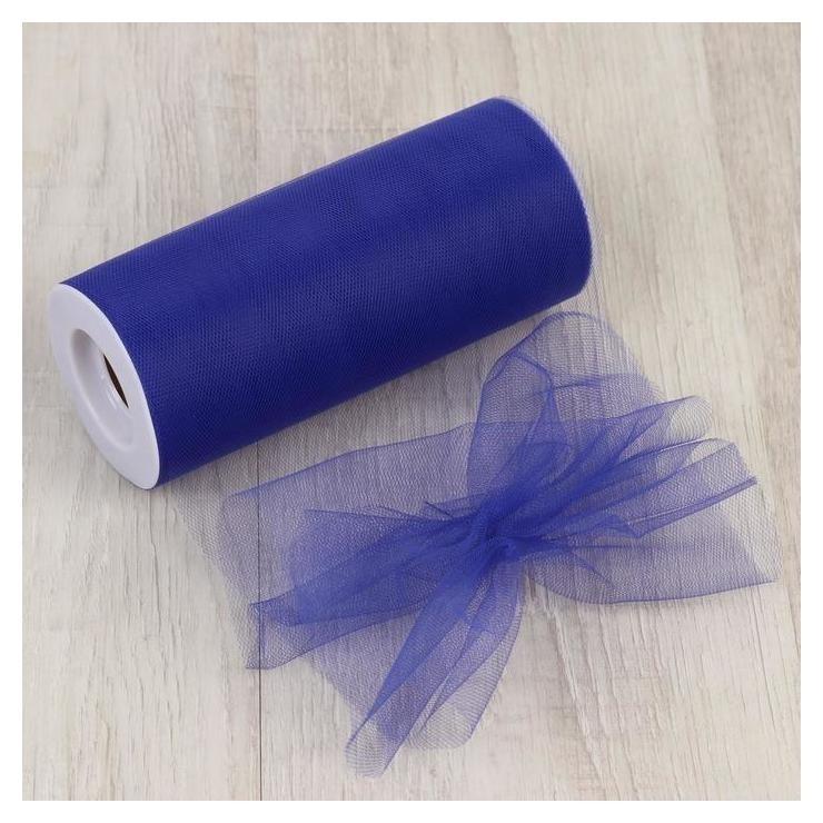 Фатин, 15 см, 20 ± 1 г/кв.м, 22,86 м, цвет тёмно-синий NNB