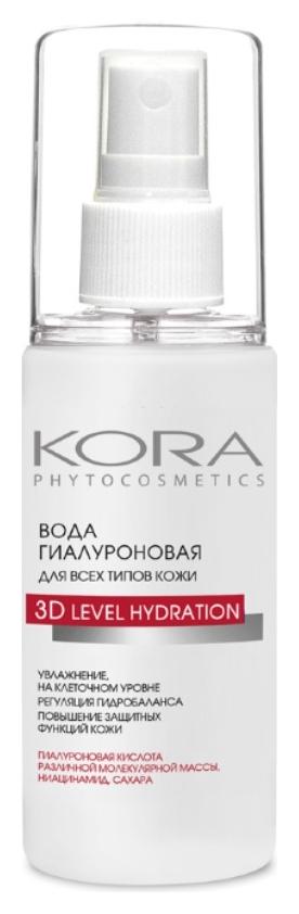 Гиалуроновая вода для всех типов кожи  Kora