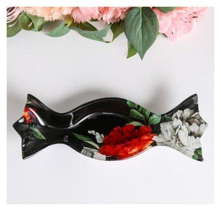 Тарелочка Цветы, 17,2 х 7,5 см Дорого внимание