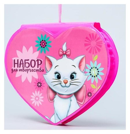 Набор для творчества коты аристократы в форме сердца, 41 предмет  Disney