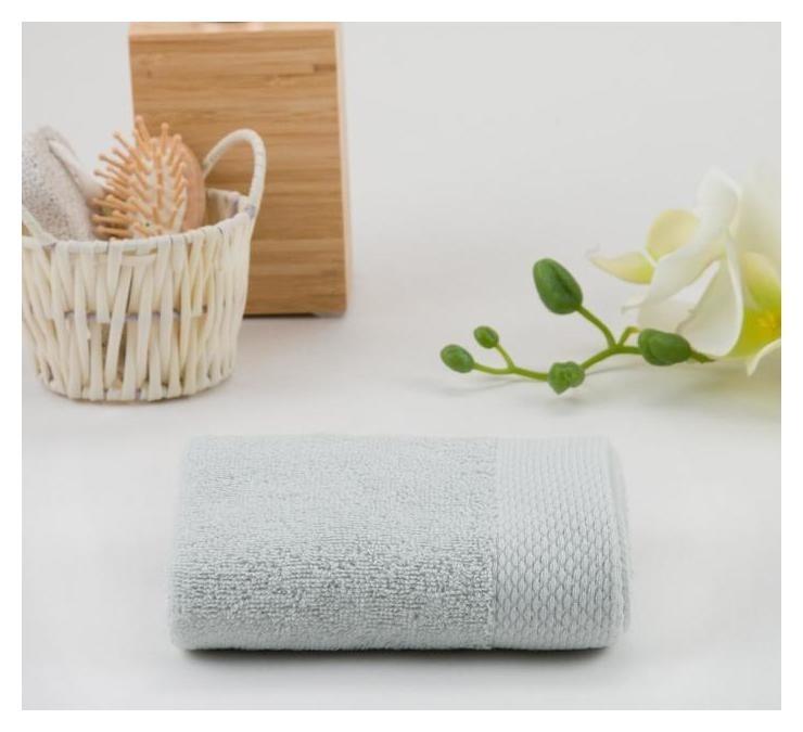Полотенце махровое гладкокрашеное, 70х140 см  Текстиль центр