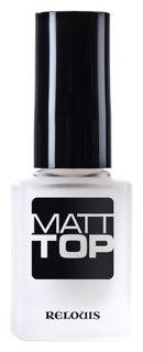 Покрытие для ногтей верхнее Matt Top Relouis