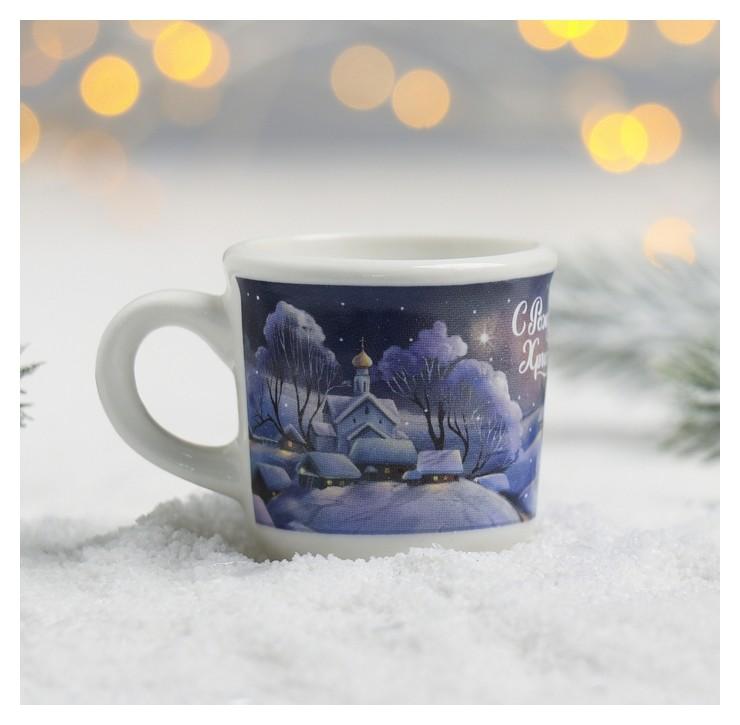 Кружечка для святой воды «Рождественская ночь», 30 мл NNB