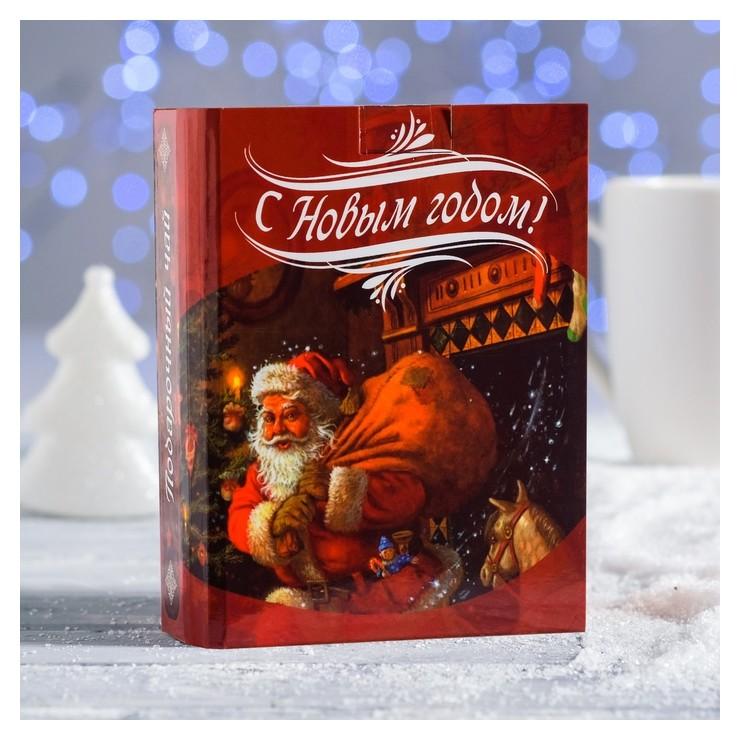 Чайная книга Ретро Дед мороз 100 г НетНеСлипнется!