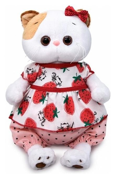Мягкая игрушка «Ли-ли в блузке с клубничками», 27 см  Басик и Ко