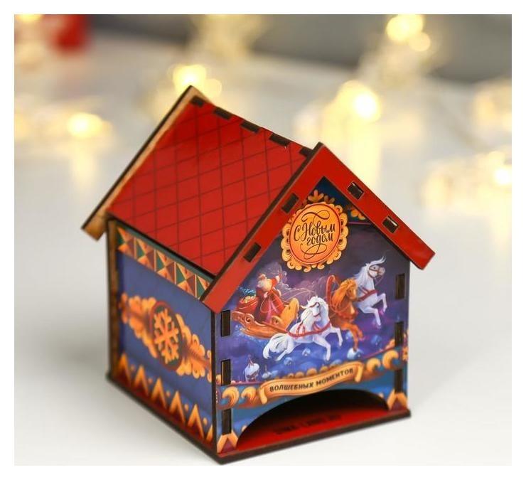 Чайный домик Волшебных моментов 8,6х9,6х12 см NNB