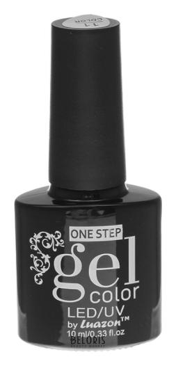 Гель-лак для ногтей однофазный с блестками One Step Led UV Luazon