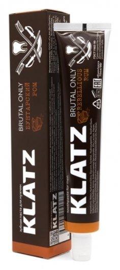 Зубная паста для мужчин Бунтарский ром  Klatz