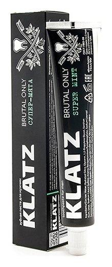 Зубная паста для мужчин Супер-мята  Klatz
