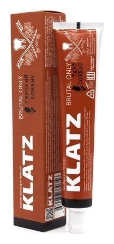 Зубная паста для мужчин Терпкий коньяк Klatz Brutal Only