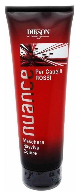 Маска для красных и медных волос тонирующая Maschera Raviva Color For Red And Mahogany Hair  Dikson