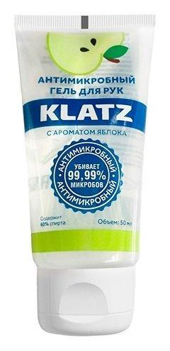 Гель для рук антимикробный с ароматом яблока  Klatz