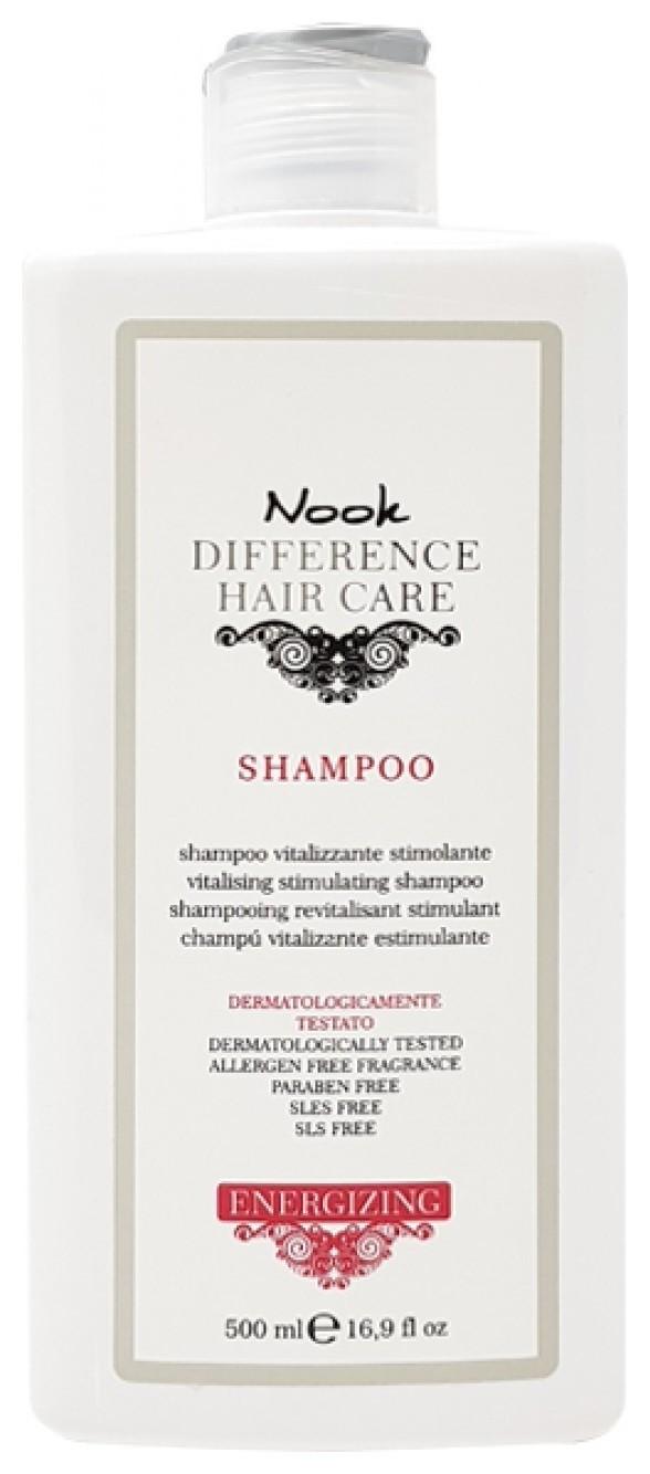 Шампунь витализирующий стимулирующий для волос склонных к выпадению Energizing Shampoo Nook DIFFERENCE HAIR CARE