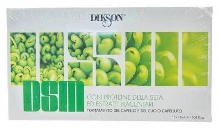 Сыворотка для чувствительной кожи головы ухаживающая с протеинами шелка  Dikson