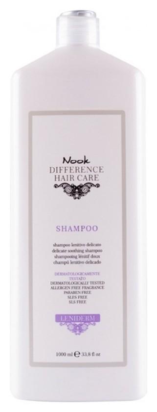 Шампунь успокаивающий для чувствительной кожи головы Ph 5,2 Leniderm Shampoo 1000 мл