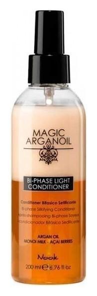 Кондиционер для волос легкий двухфазный Магия арганы Bi-phase Light Conditioner  Nook