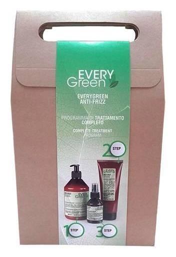 Набор продуктов для вьющихся волос Antifrizz Idratante Шампунь+Маска+Сыворотка  Dikson