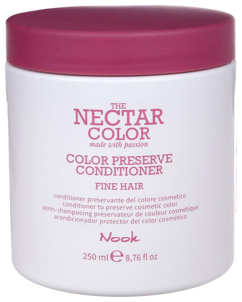 Кондиционер для ухода за тонкими окрашенными волосами Preserve Conditioner - Fine Hair to preserve cosmetic color  Nook