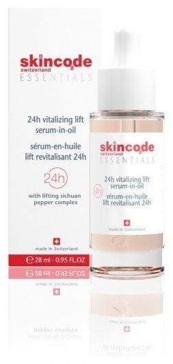 Сыворотка в масле для лица ревитализирующая подтягивающая 24 часа  Skincode