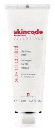 Средство для жирной кожи очищающее SOS  Skincode